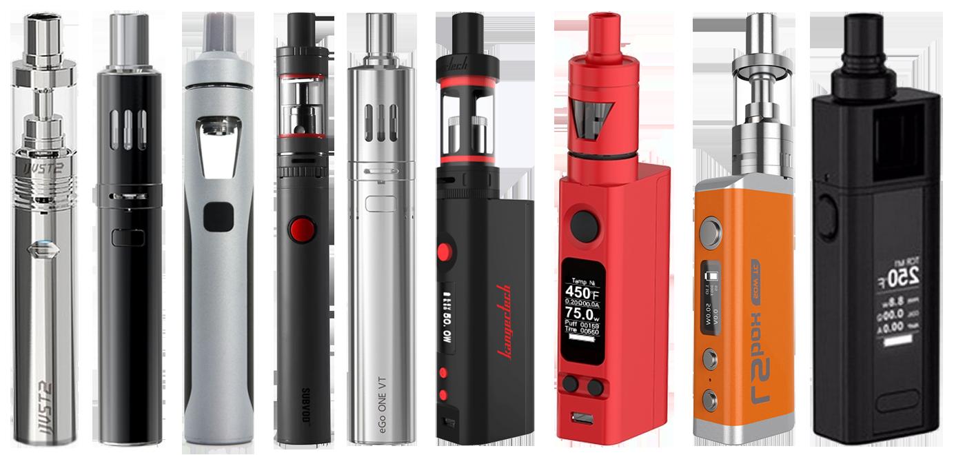 Многоразовые электронные сигареты