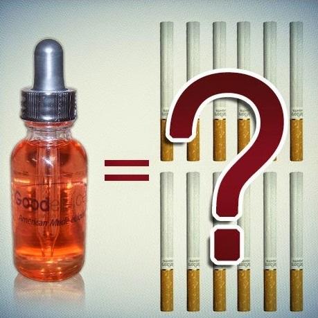 жидкость для вейпа и сигареты