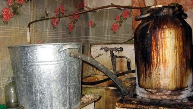 сгоревшая кухня