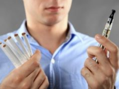 электронная сигарета и обычная
