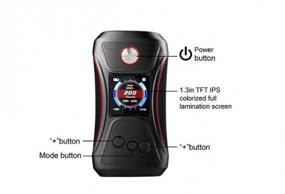 Расположение кнопок